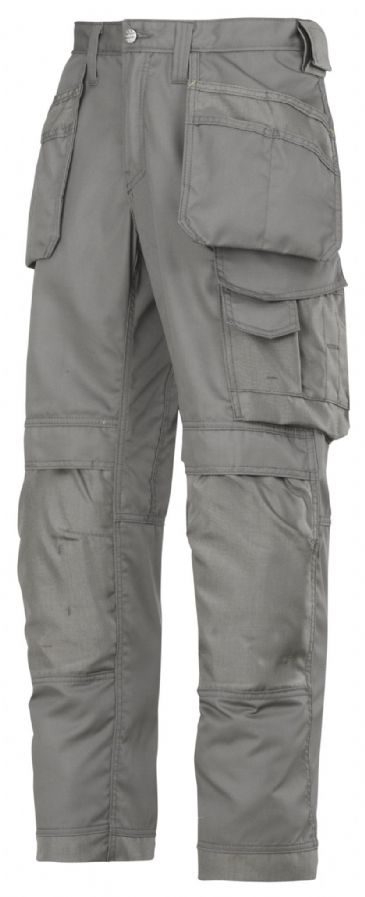 Snickers 3211 CoolTwill Craftsmen Holster Pocket Trousers (Grey)